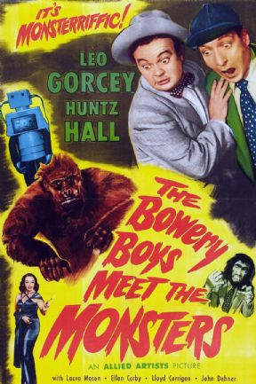 The Bowery Boys Meet the Monsters 1954 DVD - Leo Gorcey / Huntz Hall